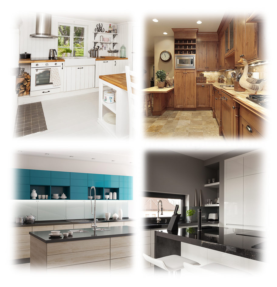 Get online kitchen prices quickly, and get access to local kitchen fitters UK